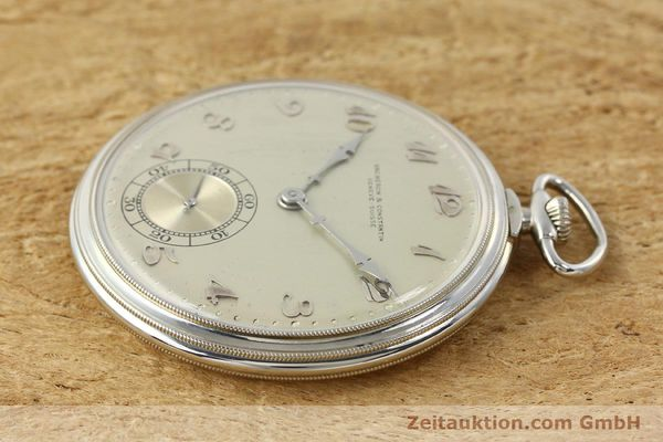 Used luxury watch Vacheron & Constantin Taschenuhr 18 ct white gold manual winding  | 143105 03
