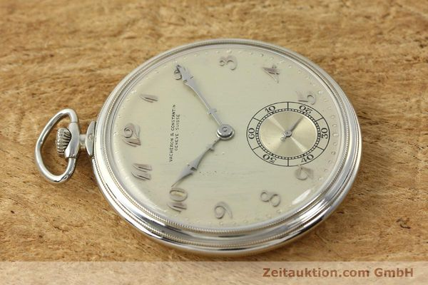 Used luxury watch Vacheron & Constantin Taschenuhr 18 ct white gold manual winding  | 143105 05