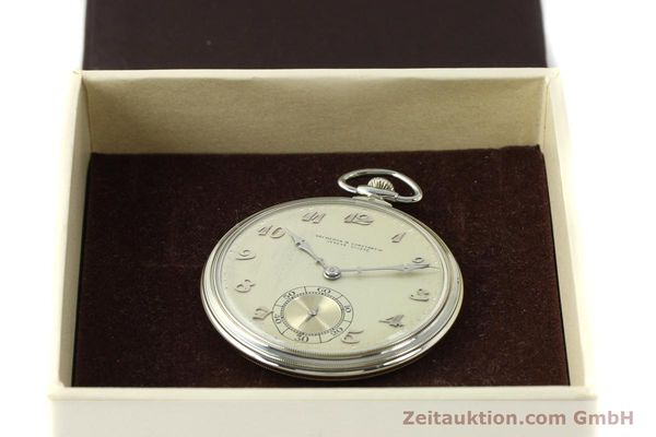 Used luxury watch Vacheron & Constantin Taschenuhr 18 ct white gold manual winding  | 143105 07