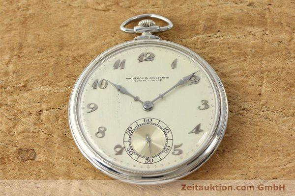 Used luxury watch Vacheron & Constantin Taschenuhr 18 ct white gold manual winding  | 143105 13