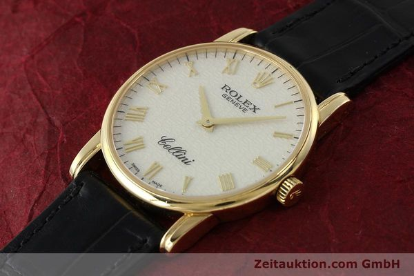 Used luxury watch Rolex Cellini 18 ct gold manual winding Kal. 1602 Ref. 5116  | 143107 01