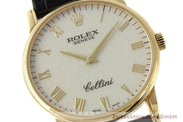 Used luxury watch Rolex Cellini 18 ct gold manual winding Kal. 1602 Ref. 5116  | 143107 02