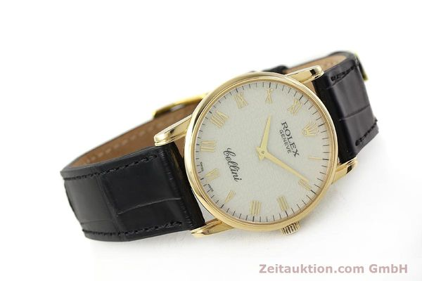 Used luxury watch Rolex Cellini 18 ct gold manual winding Kal. 1602 Ref. 5116  | 143107 03