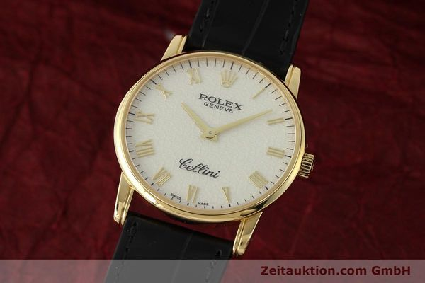 Used luxury watch Rolex Cellini 18 ct gold manual winding Kal. 1602 Ref. 5116  | 143107 04
