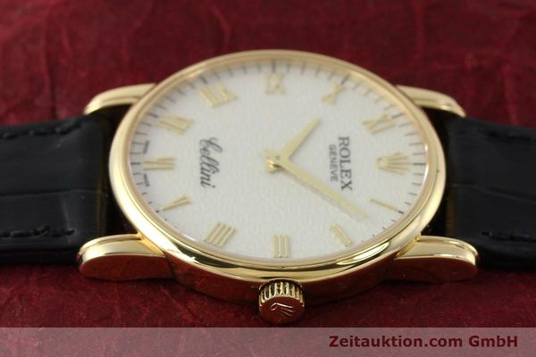 Used luxury watch Rolex Cellini 18 ct gold manual winding Kal. 1602 Ref. 5116  | 143107 05