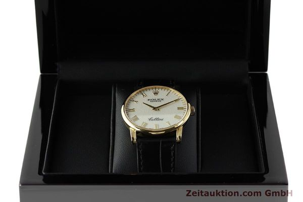 Used luxury watch Rolex Cellini 18 ct gold manual winding Kal. 1602 Ref. 5116  | 143107 07