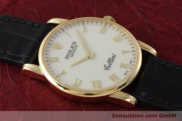 Used luxury watch Rolex Cellini 18 ct gold manual winding Kal. 1602 Ref. 5116  | 143107 13