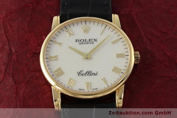 Used luxury watch Rolex Cellini 18 ct gold manual winding Kal. 1602 Ref. 5116  | 143107 14