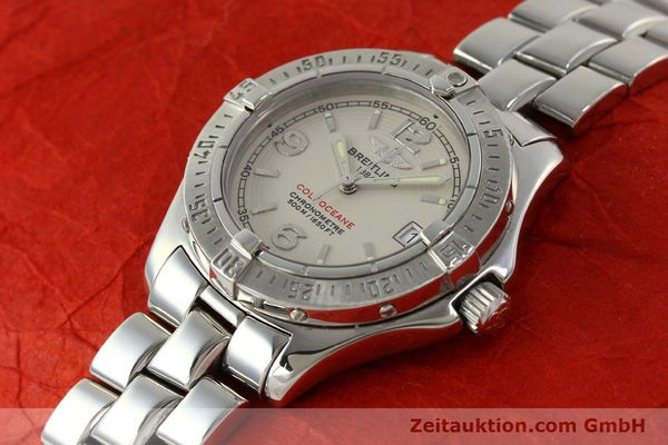 Used luxury watch Breitling Colt Oceane steel quartz Kal. B57 ETA 955412 Ref. A57350  | 143108 01
