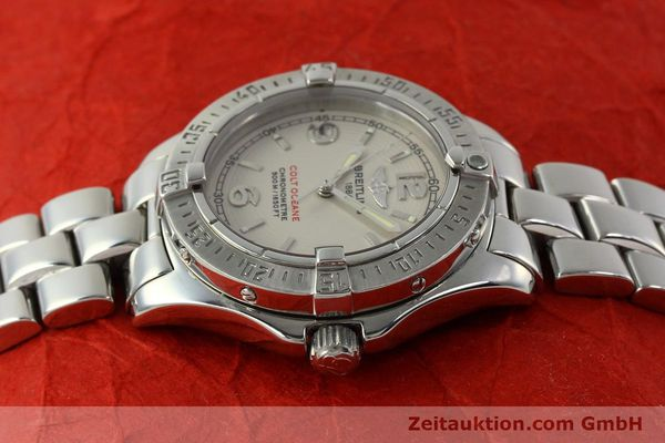 Used luxury watch Breitling Colt Oceane steel quartz Kal. B57 ETA 955412 Ref. A57350  | 143108 05