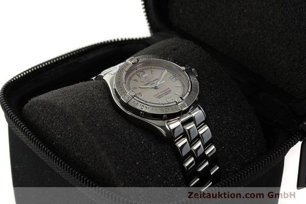 Used luxury watch Breitling Colt Oceane steel quartz Kal. B57 ETA 955412 Ref. A57350  | 143108 07