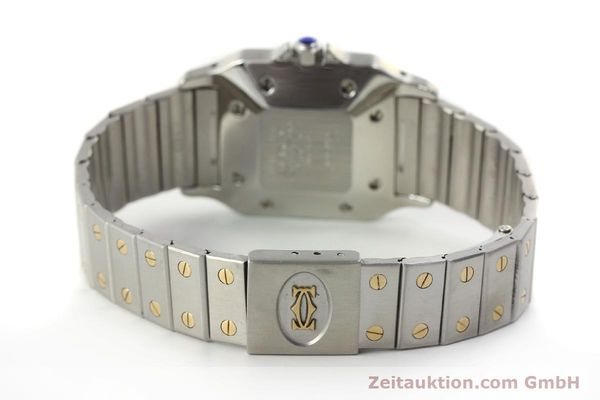 Used luxury watch Cartier Santos steel / gold automatic Kal. 077 ETA 2671  | 143110 10