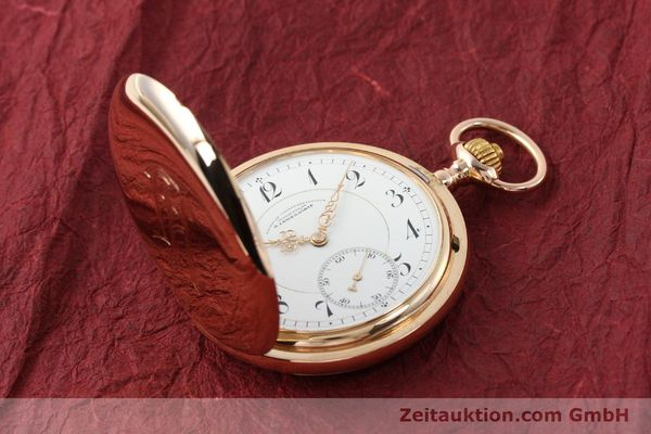 Used luxury watch A. Lange & Söhne DUF 14 ct red gold manual winding  | 143112 16
