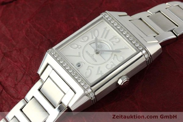 Used luxury watch Jaeger Le Coultre Reverso steel automatic Ref. 235.8.76  | 143116 01