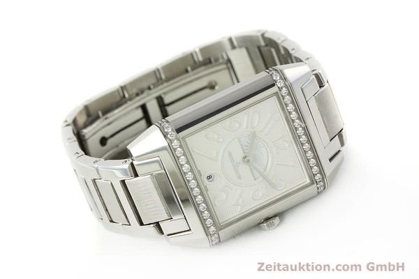 Used luxury watch Jaeger Le Coultre Reverso steel automatic Ref. 235.8.76  | 143116 03