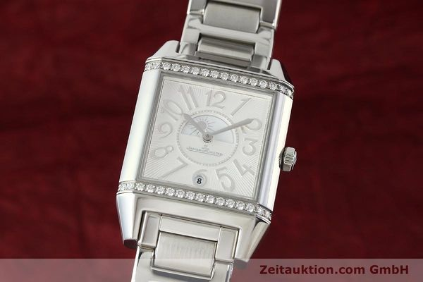 Used luxury watch Jaeger Le Coultre Reverso steel automatic Ref. 235.8.76  | 143116 04