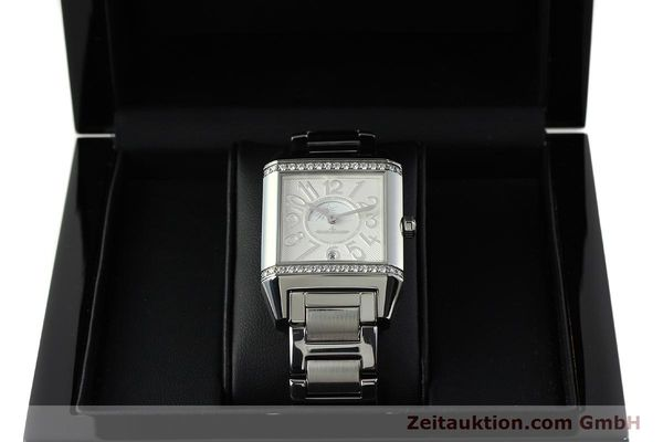 Used luxury watch Jaeger Le Coultre Reverso steel automatic Ref. 235.8.76  | 143116 07