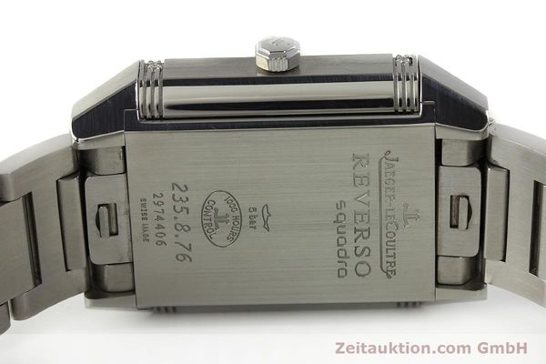 Used luxury watch Jaeger Le Coultre Reverso steel automatic Ref. 235.8.76  | 143116 09