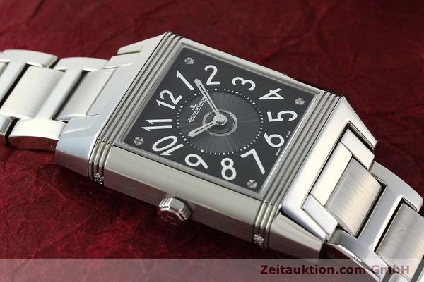 Used luxury watch Jaeger Le Coultre Reverso steel automatic Ref. 235.8.76  | 143116 12