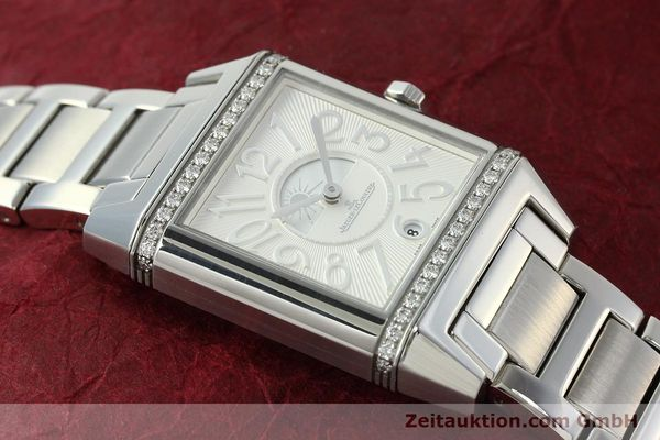 Used luxury watch Jaeger Le Coultre Reverso steel automatic Ref. 235.8.76  | 143116 15