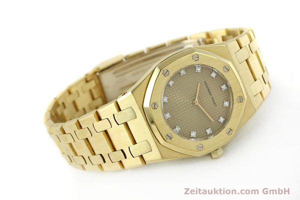 gebrauchte Luxusuhr Audemars Piguet Royal Oak 18k Gold Quarz Ref. B66686  | 143117 03