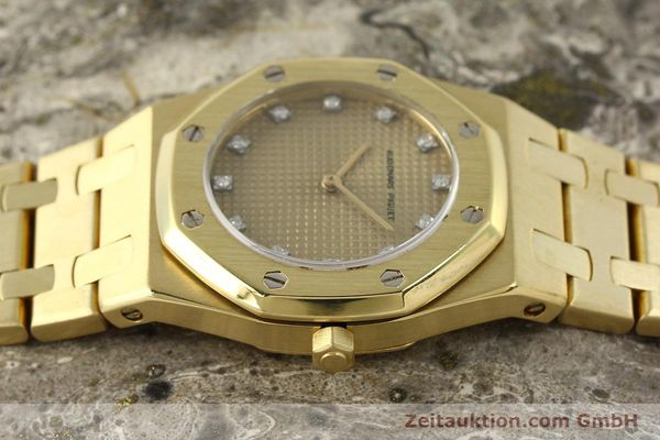 gebrauchte Luxusuhr Audemars Piguet Royal Oak 18k Gold Quarz Ref. B66686  | 143117 05
