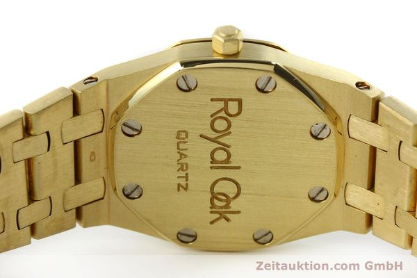 gebrauchte Luxusuhr Audemars Piguet Royal Oak 18k Gold Quarz Ref. B66686  | 143117 08