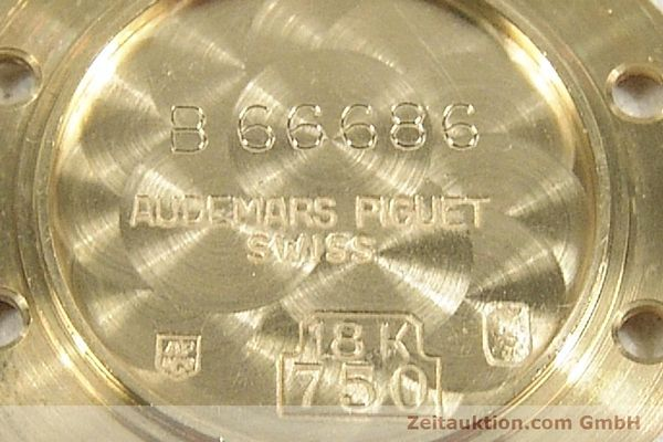 gebrauchte Luxusuhr Audemars Piguet Royal Oak 18k Gold Quarz Ref. B66686  | 143117 09