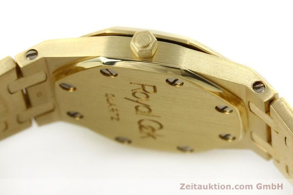 gebrauchte Luxusuhr Audemars Piguet Royal Oak 18k Gold Quarz Ref. B66686  | 143117 11