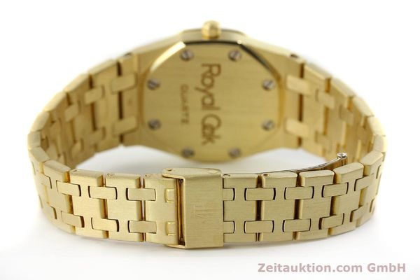 gebrauchte Luxusuhr Audemars Piguet Royal Oak 18k Gold Quarz Ref. B66686  | 143117 12