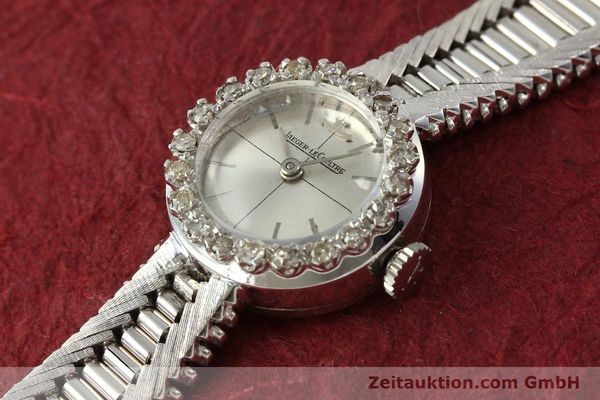Used luxury watch Jaeger Le Coultre * 18 ct white gold manual winding  | 143123 01