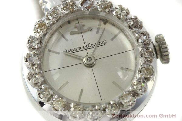 Used luxury watch Jaeger Le Coultre * 18 ct white gold manual winding  | 143123 02