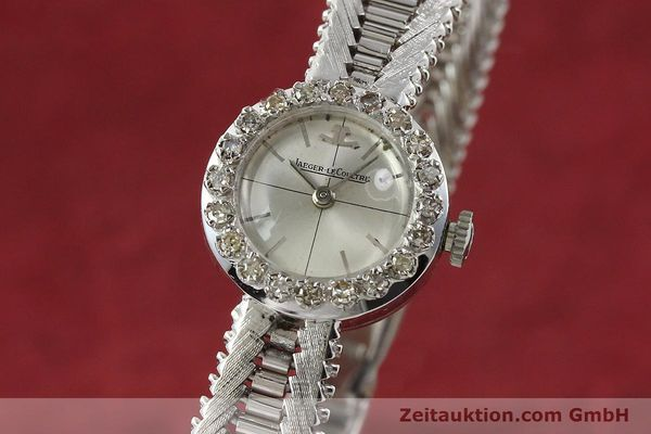 Used luxury watch Jaeger Le Coultre * 18 ct white gold manual winding  | 143123 04