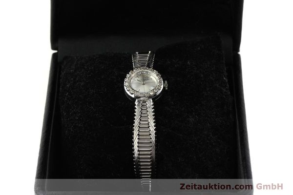 Used luxury watch Jaeger Le Coultre * 18 ct white gold manual winding  | 143123 07