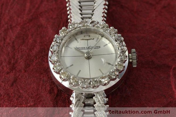 Used luxury watch Jaeger Le Coultre * 18 ct white gold manual winding  | 143123 15