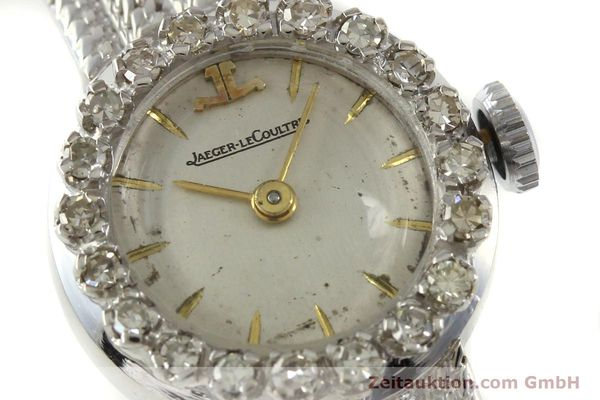 Used luxury watch Jaeger Le Coultre * 18 ct white gold manual winding  | 143125 02