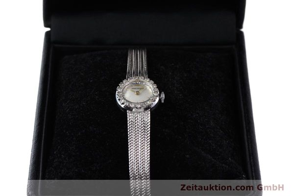 Used luxury watch Jaeger Le Coultre * 18 ct white gold manual winding  | 143125 07