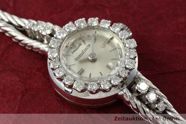 Used luxury watch Jaeger Le Coultre * 18 ct white gold manual winding  | 143126 13