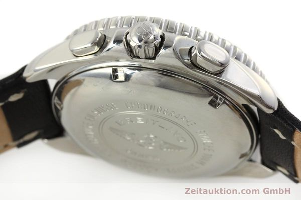 Used luxury watch Breitling Shark chronograph steel automatic Kal. B13 ETA 7750 Ref. A13051  | 150003 08