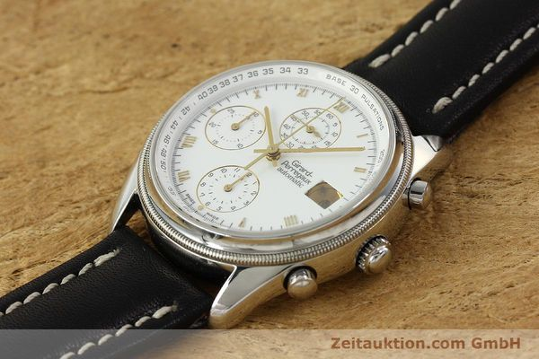 Used luxury watch Girard Perregaux GP 4900 chronograph steel automatic Kal. 800-114 Ref. 4910  | 150005 01
