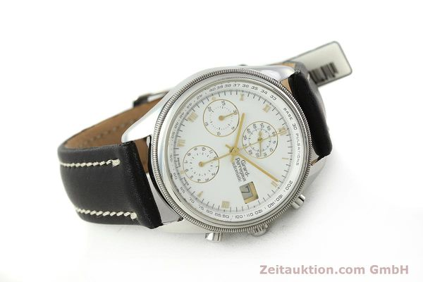 Used luxury watch Girard Perregaux GP 4900 chronograph steel automatic Kal. 800-114 Ref. 4910  | 150005 03