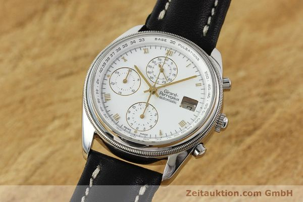 Used luxury watch Girard Perregaux GP 4900 chronograph steel automatic Kal. 800-114 Ref. 4910  | 150005 04