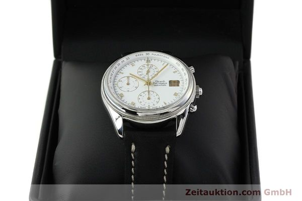 Used luxury watch Girard Perregaux GP 4900 chronograph steel automatic Kal. 800-114 Ref. 4910  | 150005 07