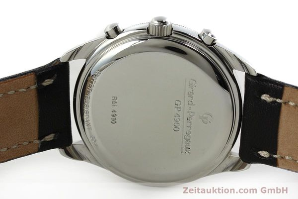 Used luxury watch Girard Perregaux GP 4900 chronograph steel automatic Kal. 800-114 Ref. 4910  | 150005 09