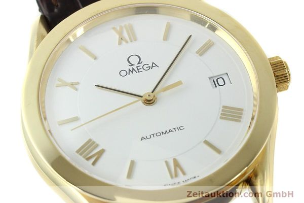 Used luxury watch Omega * 18 ct gold automatic Kal. 1108  | 150008 02