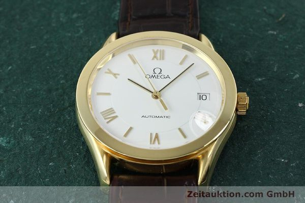 Used luxury watch Omega * 18 ct gold automatic Kal. 1108  | 150008 15