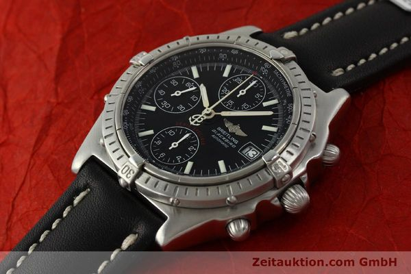 Used luxury watch Breitling Chronomat chronograph steel automatic Kal. ETA 7750  | 150011 01