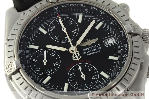 Used luxury watch Breitling Chronomat chronograph steel automatic Kal. ETA 7750  | 150011 02