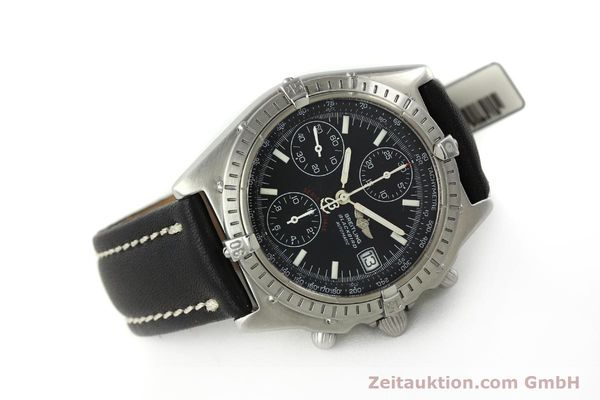 Used luxury watch Breitling Chronomat chronograph steel automatic Kal. ETA 7750  | 150011 03
