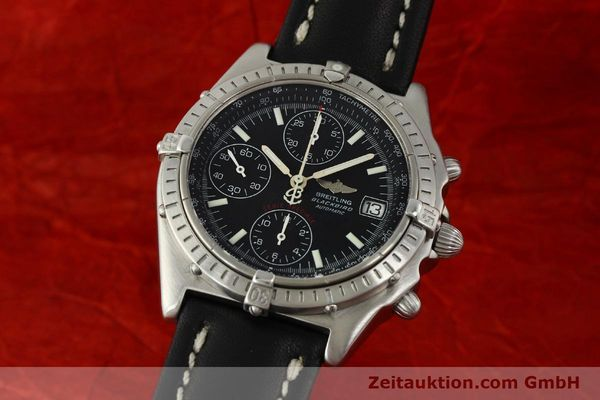 Used luxury watch Breitling Chronomat chronograph steel automatic Kal. ETA 7750  | 150011 04